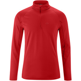 Maier Sports Christian LS Turtleneck Top Men tango red